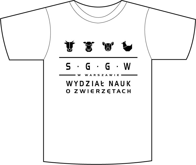SGGW - koszulka zootechnika