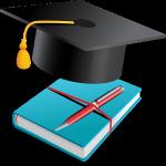 książka i czapeczka studencka atuty szkolnictwa
